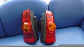 Mitsubishi space saver rear lights 2003 model