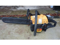 Maculloch petrol chansaw model 435