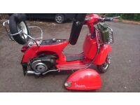 Vespa px 125cc/166cc moped/scooter