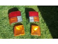 VW T4 Transport rear lights & Front Indicators