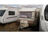 Sprite GL Alpine Caravan Retro Scrap or Repairs 2 Beds weighs less than 750 kg for any Car