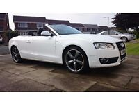 Audi A5 2.0 tdi convertible se 2010 only 61000 miles