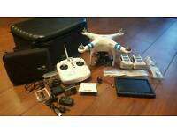 DJI Phantom 2 with GoPro Hero 3 and lots of extras (please read)