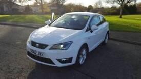 Seat Ibiza SC FR 2012/62 1.6 TDI 105ps £30 Road Tax