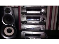 Technics separates dvd suround sound sys5