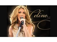 2 x Celine Dion Tickets for London 20th June 2017