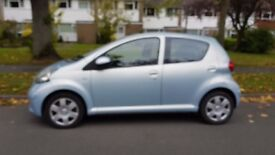 AUTOMATIC TOYOTA AYGO-£20 ROAD TAX PER YEAR