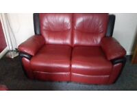3 seater and 2 seater sofas all reclining