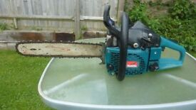 Makita large petrol chainsaw cost £400