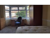 Large room for single person or couple. All bills included. 1 week deposit. No agency fees