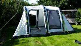 Campervan awning tent.