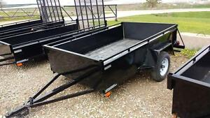 2015 Advantage 5x8 Steel Utility Trailer (BT583)
