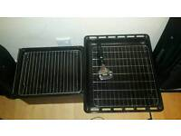 Grill and oven pan set.