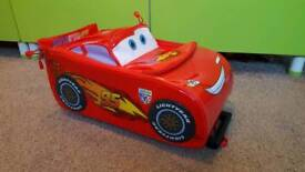 lightening McQueen trolley case