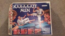 Vintage 1975 Aurora Karate Men game