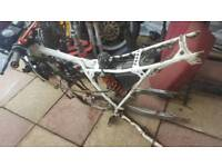 Honda mtx frame and various other parts