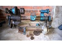Drummond Brothers Metal Lathe - Large, Heavy and possibly quite old!
