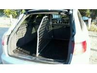 Car boot dog guard, boot divider and boot liner (Travall) for Audi A6 Avant