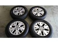 16 inch VW Transporter Alloy wheels & Tyres