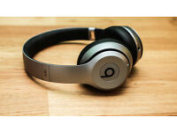 Beats br Dr Dre Solo2 wireless headphones space grey, brand new in box