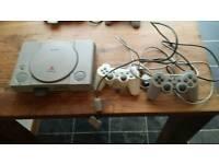 Playstation 1, 2 Controllers & Gun