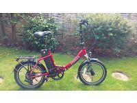 Nearly new Freego Folder - Electric Folding Bike
