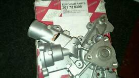 Water pump for corsa