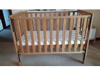 Mothercare eco bamboo cot