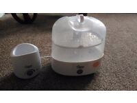 Tommee tippee steralizer and bottle warmer.