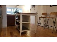 Ikea Stenstorp, Free-standing kitchen table/island with seats