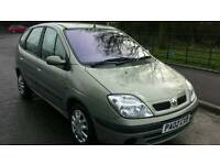 2002 rensult scenic automatic 1.6 mot august 2017