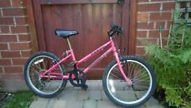 Girls 5 gear bike Age 3-9 - Tango Emmelle