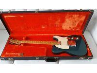 1971 Fender Telecaster - Lake Placid Blue w/ maple neck