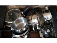 Tower Cookware & steamer - DELIVERY AVAILABLE