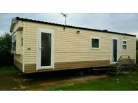 CHEAP STATIC caravan for sale on 11 month site.