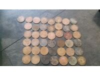 Collections of Old coins.