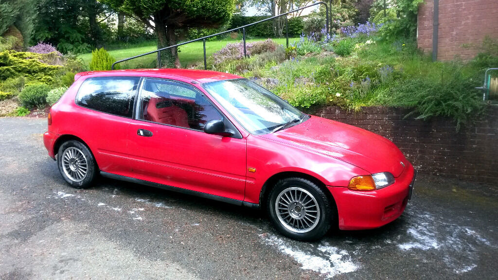 "Honda 14"" Enkei Wheels Alloys 4x100 Civic Crx Prelude Accord B16 B18 VTEC Engine Vti SiR Esi EG ..."
