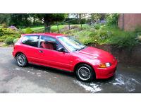 "Honda 14"" Enkei Wheels Alloys 4x100 Civic Crx Prelude Accord B16 B18 VTEC Engine Vti SiR Esi EG EK"