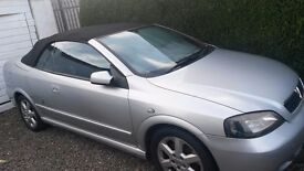 VAUXHALL ASTRA CONVERTIBLE. ONLY 40,000 MILES.