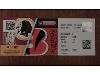 NFL ticket at Wembley