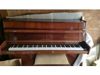 Upright piano & piano stool