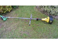 mcculloch petrol strimmer mt 320i av. long reach straight shaft strimmer in very good running order