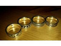 Mens silver celtic rings