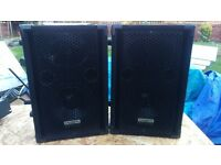 Kam Pa Speakers with Amp 100W RMS