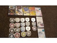 31 x PSP Games & Movies inc Tekken,GTA,Ratchet & Clank,Euro Goals