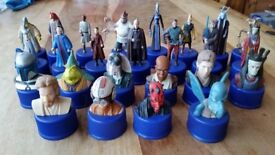Star Wars bottle top collection - USED -