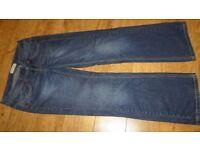 TOPSHOP Moto boyfriend jeans - W28 L34 (size 12)