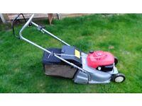 Honda HRB 425C Petrol Lawn Mower with Rear Roller 4 Stroke