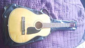 1960s. Selmer 222 3/4 sized guitar