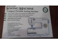 sew land portable sewing machine
